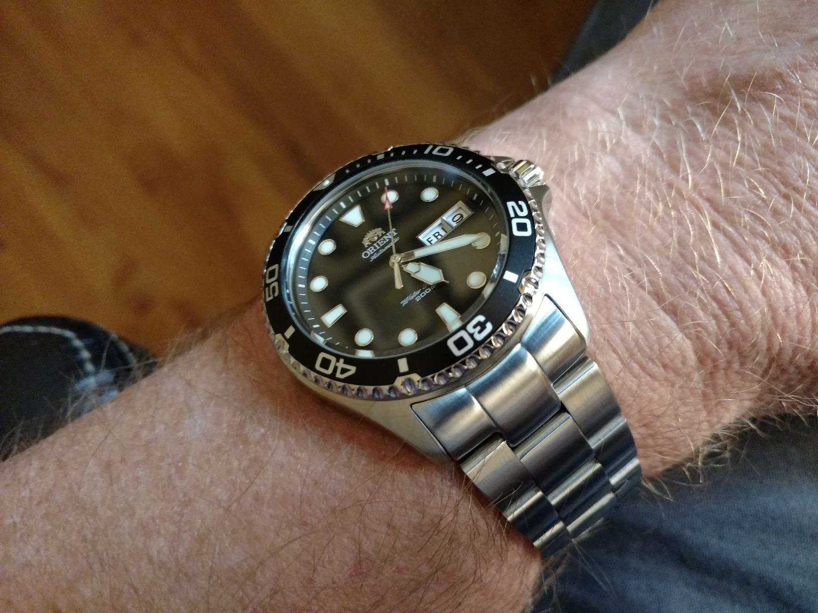 Orient Men's 'Ray II' Japanese Automatic Stainless Steel Diving