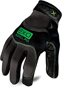 Ironclad EXO2-MWR-03-M EXO Modern Water Resistant Gloves,Black/Grey,Medium