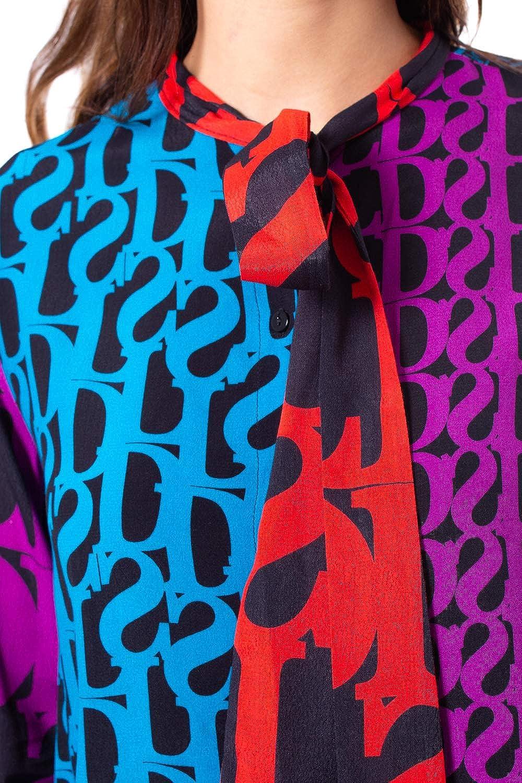 Desigual Camicia Manica Lunga Donna Cam Janice 19wwcw66 Multicolor