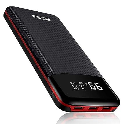 Amazon.com: Cargador portátil con batería de alta capacidad ...