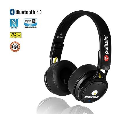 Auriculares inalámbricos Bluetooth 4.0, cascos bluetooth Pullwin modelo Maxima FM, auriculares con micrófono,