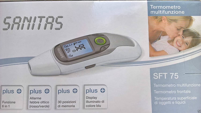 Mutifunctional Sanitas SFT 75 6-in-1 Ear /& Forhead Thermometer