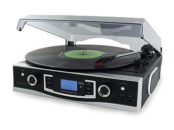 Soundmaster PL530 - Tocadiscos: Amazon.es: Electrónica