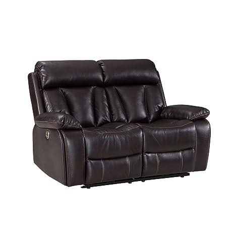 Marvelous Amazon Com Power Recliner Sofa With Usb Charging Port Short Links Chair Design For Home Short Linksinfo