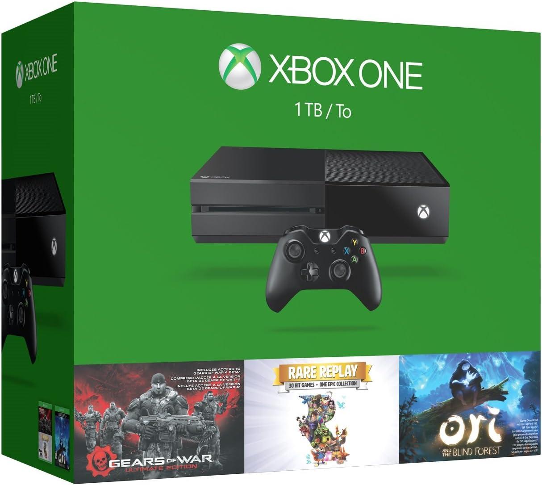 32e84e6fc5a1 Amazon.com  Xbox One 1TB Console - 3 Games Holiday Bundle (Gears of ...