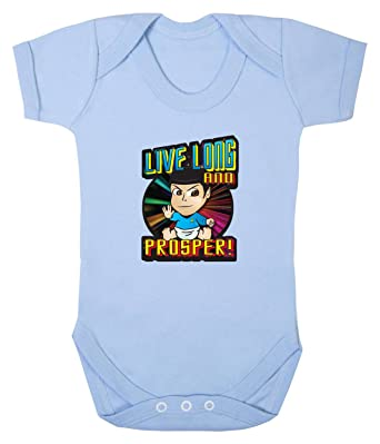 Badass Babies Live Long and Prosper Babygrow