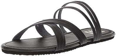 f8920a55825 Billabong Women s Sandy Toes Flat Sandal Black 6 ...