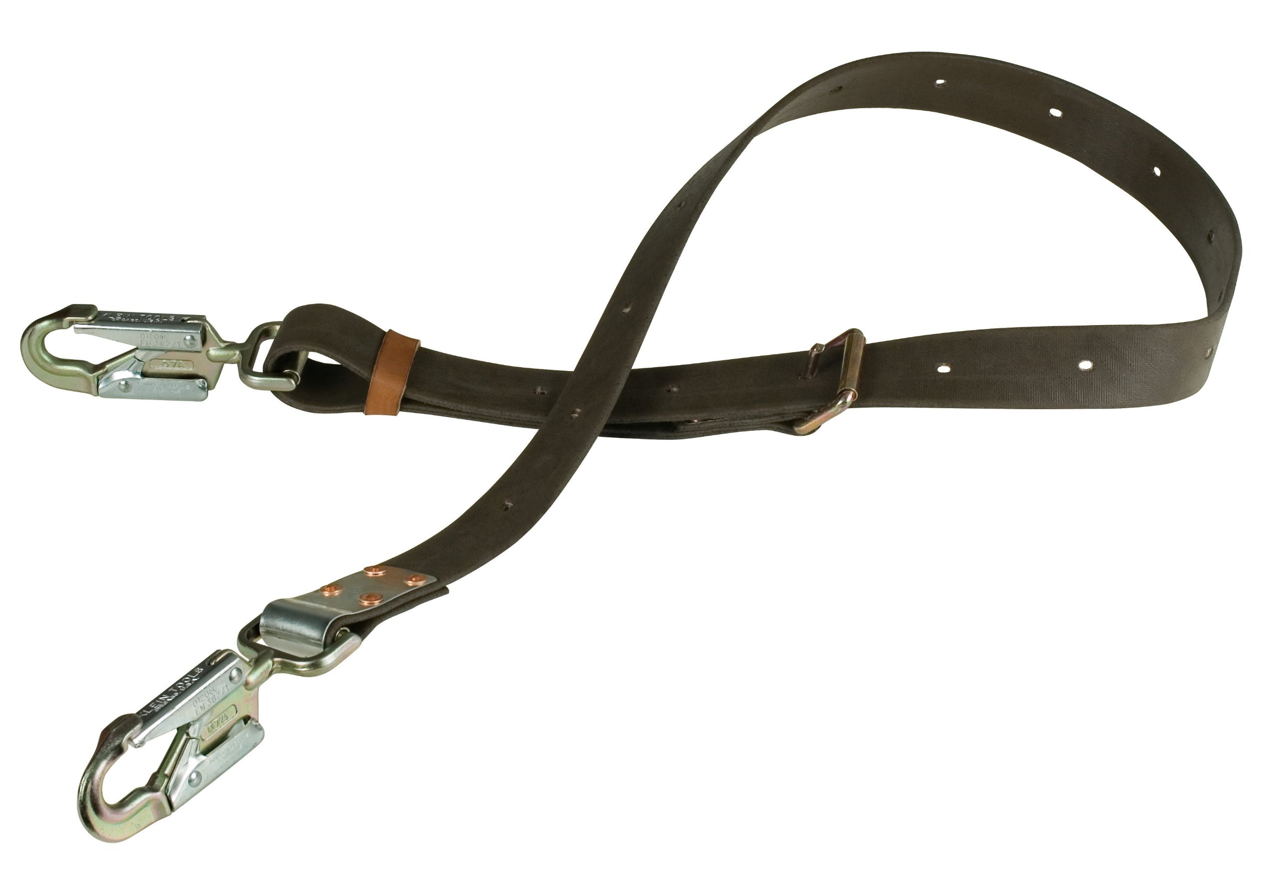 Positioning Strap with 6-1/2-Inch Snap Hook, 6-Foot Long Klein Tools KG5295-6L by Klein Tools (Image #1)