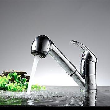 Sehr Kaleep Spültischarmatur mit herausziehbarer Geschirrbrause Küche  HS71