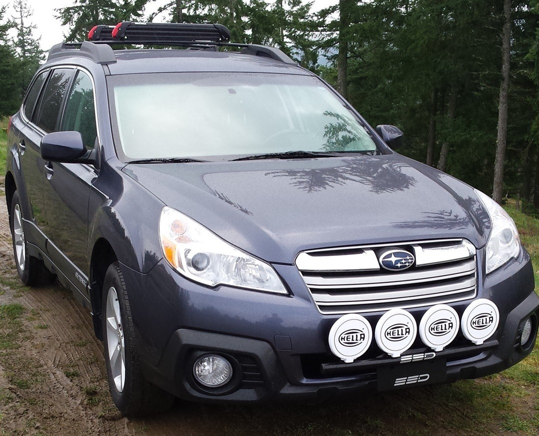 Amazon fits 2013 subaru outback all models rally light bar amazon fits 2013 subaru outback all models rally light bar bull bar nudge bar 4 light tabs powder coated from ssd performance automotive vanachro Gallery