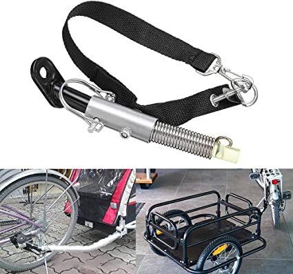 Lock Linker Connector Attachment Bicycle Trailer Baby Pet Coupler Hitch Mount