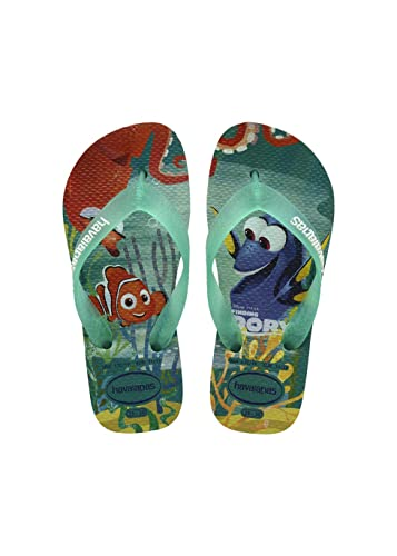 Havaianas Kids Nemo E Dory - Ice Blue (Synthetic) Childrens Sandals 10/11