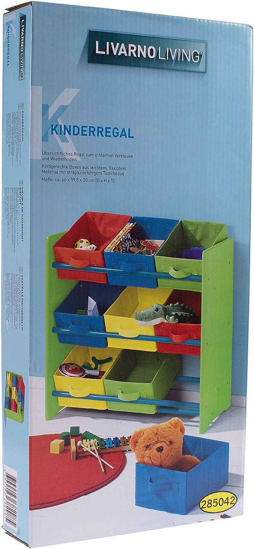 Livarno Living® Niños Estantería juguete Estantería: Amazon ...