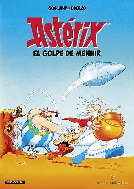 Astérix El golpe De Menhir [DVD]: Amazon.es: Philippe Grimond, Yannik Piel: Cine y Series TV