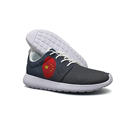 Fingerprint Flag Men Casual Athletic Shoes Lightweight Slip-On Sneakers Shoes