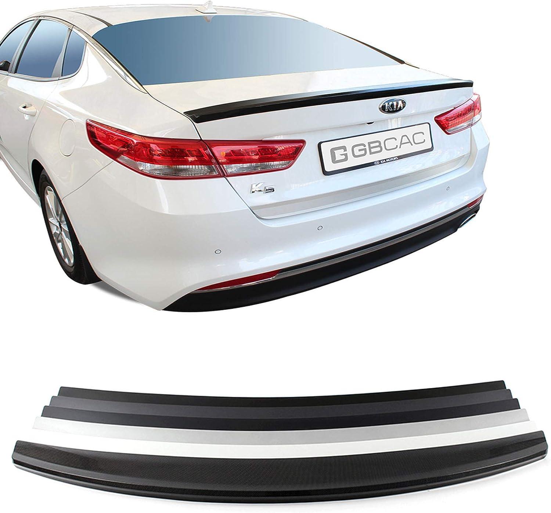 USPS Black Rear Trunk Wing Lip Spoiler for Kia Forte Seden 4Door 2014-2018