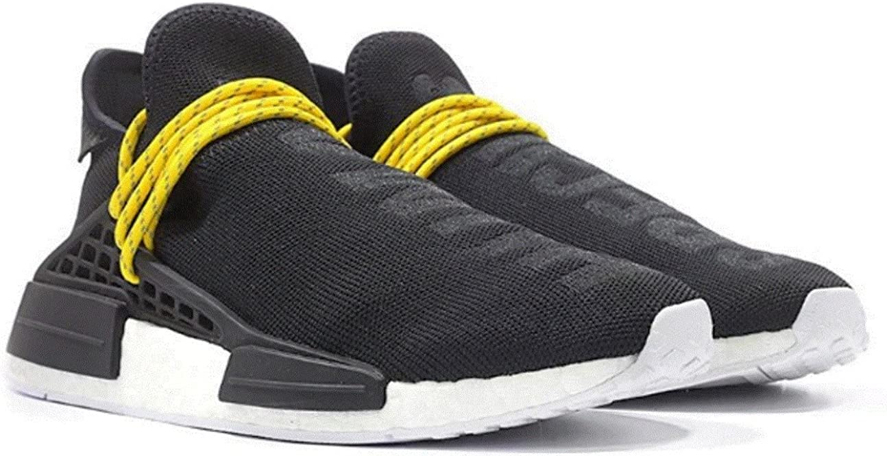 Adidas X Pharrell Nmd Human Race Black Size Uk 7 Brand New
