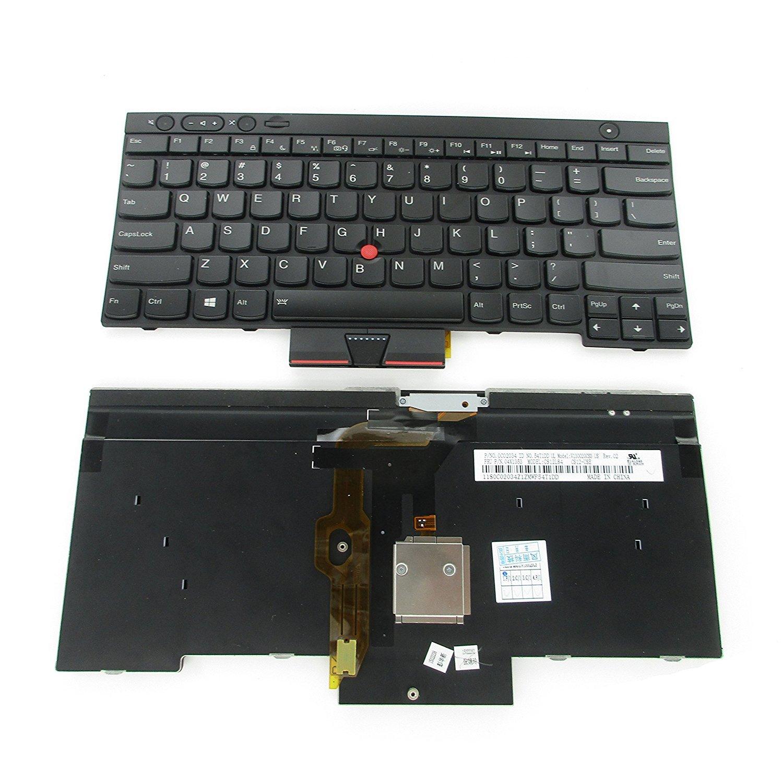 aGood US Layout Laptop Keyboard For Lenovo Thinkpad T430 T430S T430I X230 X230T X230I T530 W530 (Not Fit T430U / X230S) Compatible 04W2250, 04W2369, 04W3025, 04W3063, 04W3174, 04X1277, 04X1315