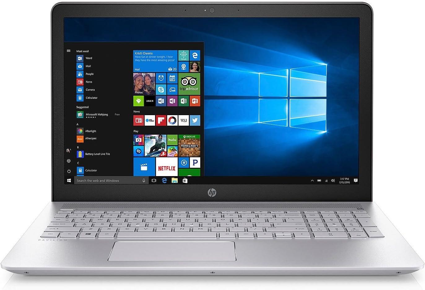 "HP Pavilion 15.6"" Full HD Notebook, Intel 8th Gen Core i7-8550U QC Processor, 8GB Memory, 2TB Hard Drive, 4GB NVIDIA GT940MX Graphics, Optical Drive, HD Webcam, Backlit Keyboard"