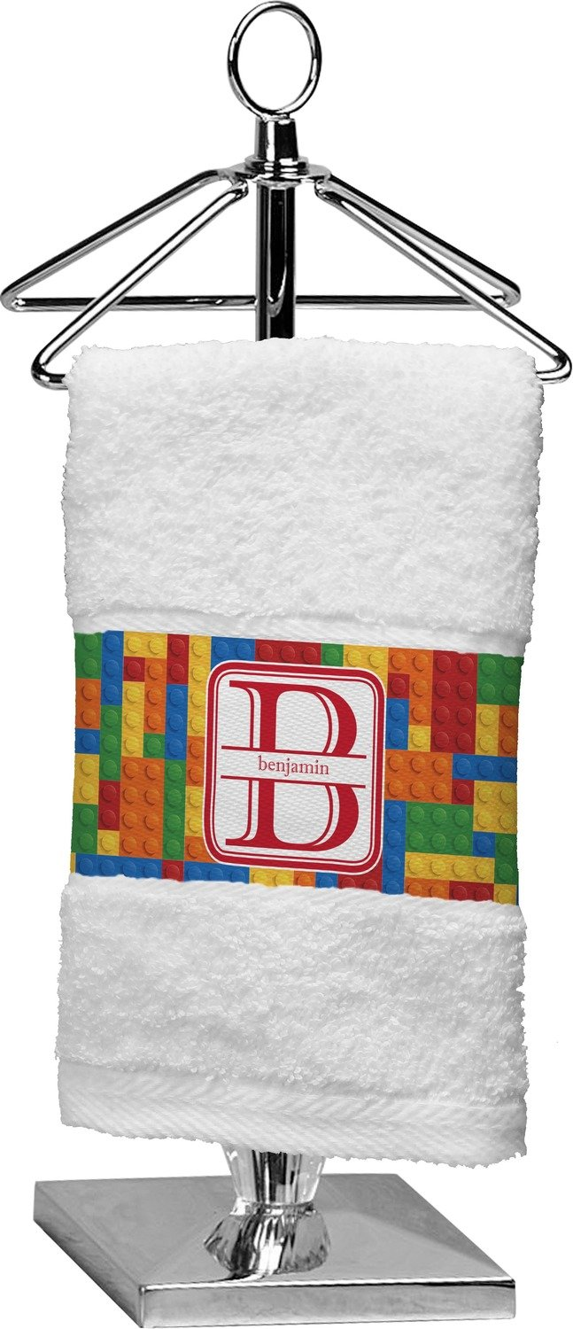 RNK Shops Building Blocks Finger Tip Towel (Personalized)