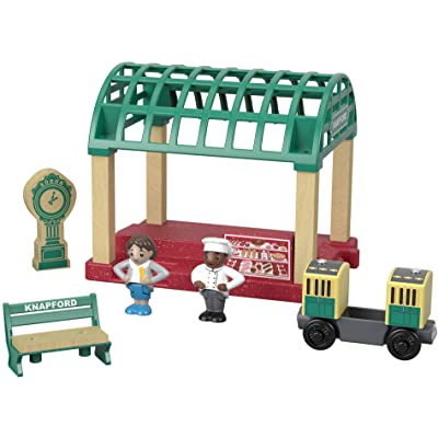 Thomas & Friends Fisher-Price Wood, Knapford Train Station: Toys & Games