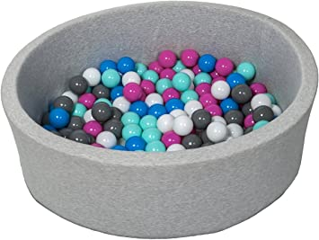 Bällebad Ballpool Kugelbad Rund Top Qualität OHNE Bällen