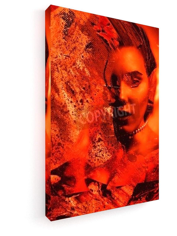Gestalten - 30x45 cm - Premium Leinwandbild auf Keilrahmen - Wand ...