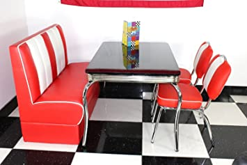 Just-Americana.com American Diner Möbel Stil der 50er Jahre ...