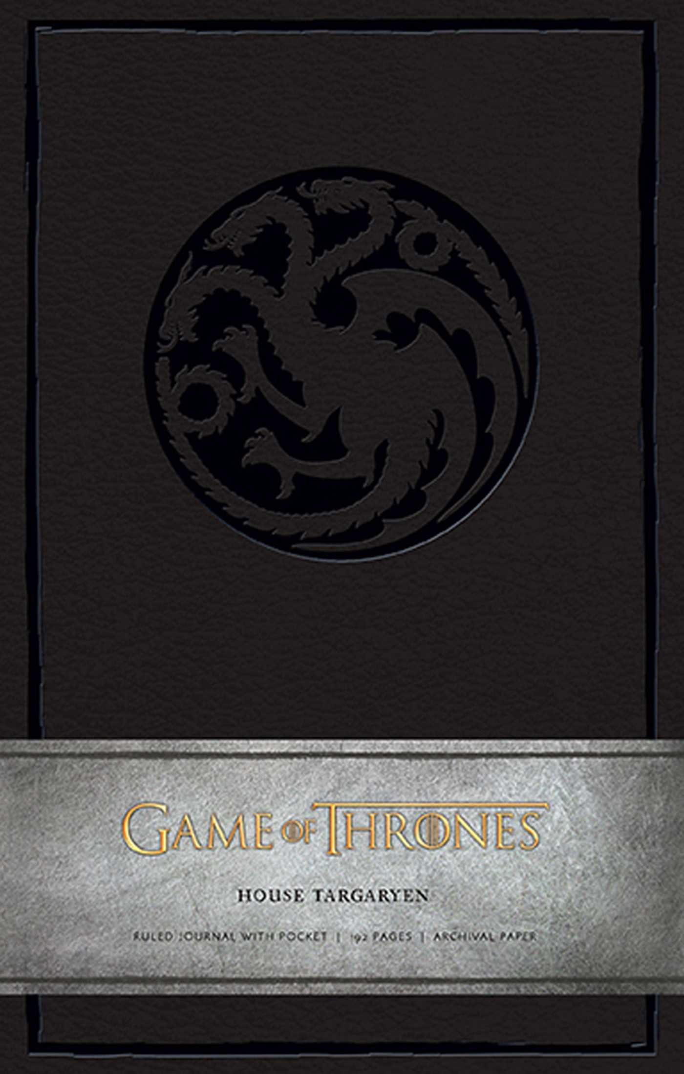 Game Thrones Targaryen Hardcover Insights product image