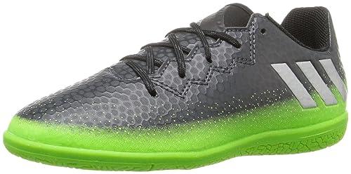 0b5d8a904 adidas Kids Messi 16.3 Indoor Soccer Shoes  Amazon.ca  Shoes   Handbags