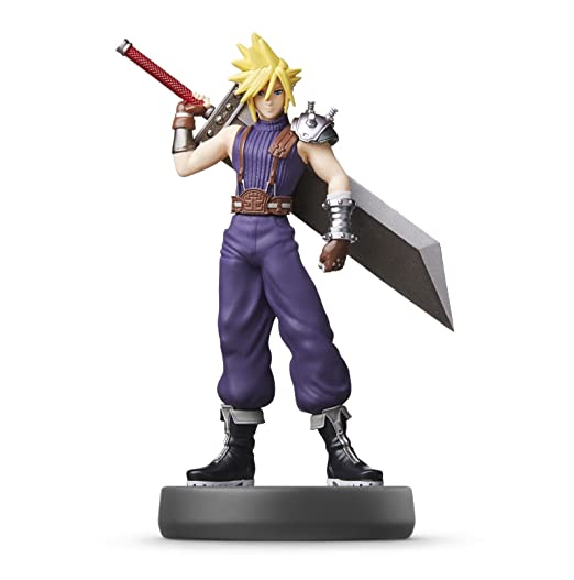 Amazon com: Nintendo amiibo - Cloud (SSB): nintendo switch: Video Games