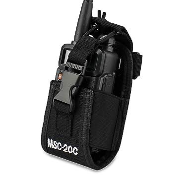 20D KEESIN De m/últiples funciones del sostenedor de la bolsa del tel/éfono para el GPS radio de dos v/ías walkie talkie pistolera