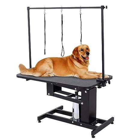 Amazon.com: Suncoo perro de mascota gato Grooming mesa con ...