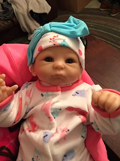 The Ashton - Drake Galleries Tasha Edenholm So Truly Real Lifelike Poseable Baby Girl Doll: Little Peanut - 17