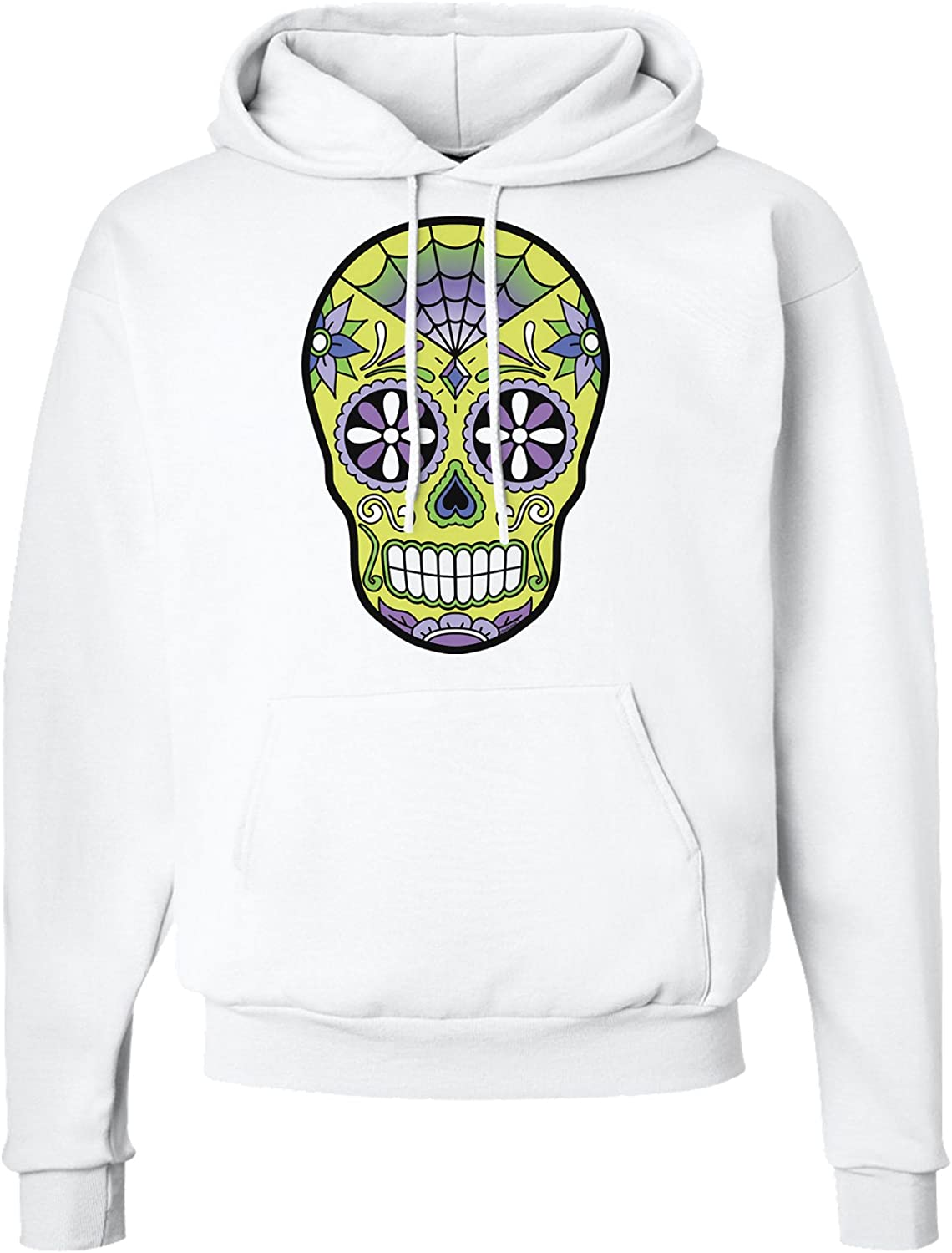 TooLoud Version 7 Poison Day of The Dead Calavera Hoodie Sweatshirt