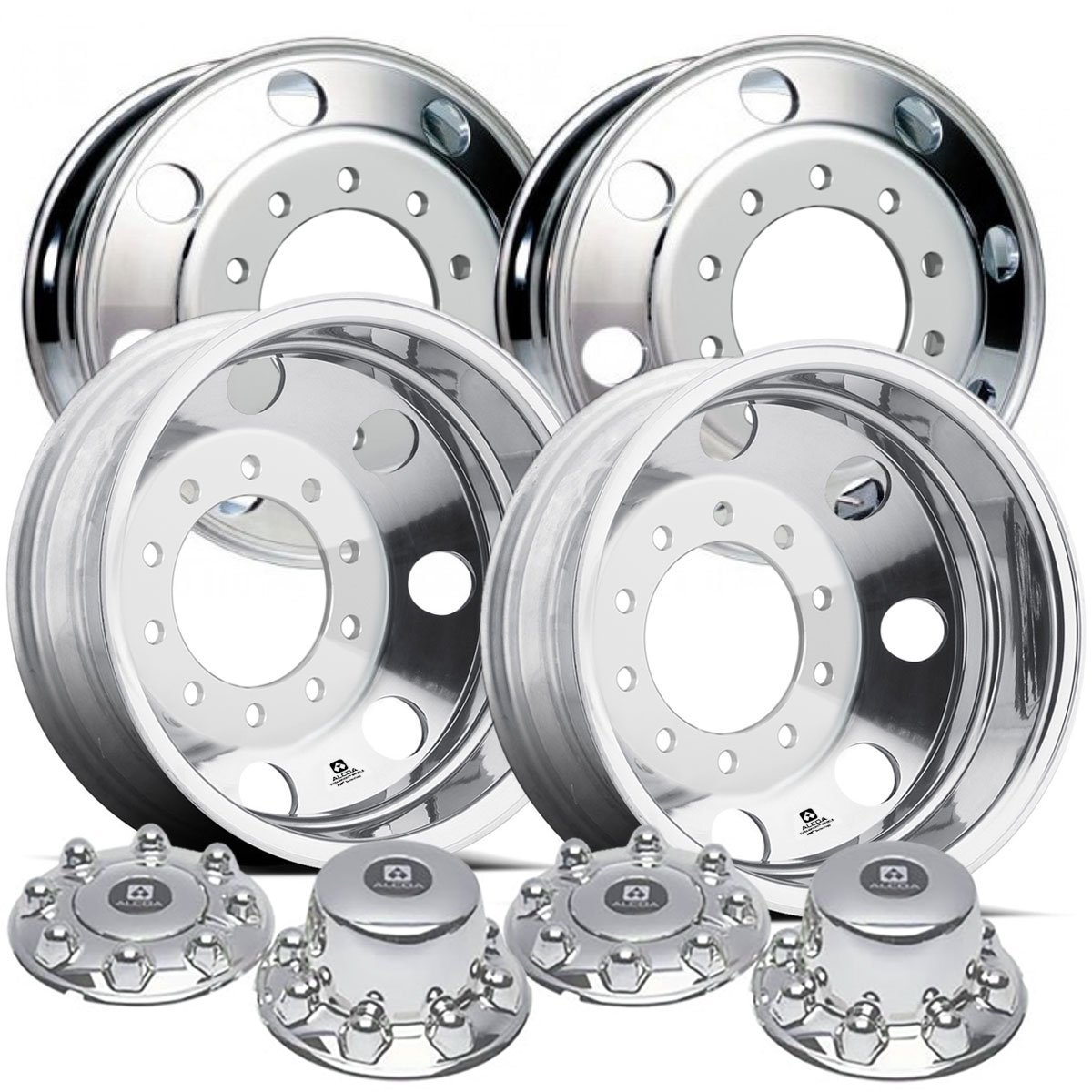 Alcoa 19.5'' Dura Bright Wheel Package for a Dodge Ram 4500 & 5500 Polished (2005 - current)