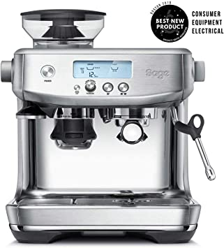Sage Appliances Ses878bss The Barista Pro Bean To Cup 1680 W 2 Liters Brushed Stainless Steel