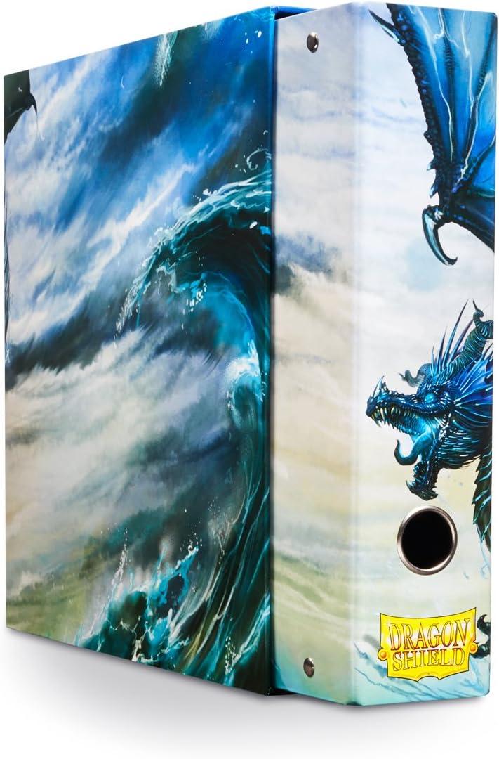 Dragon Shield Slipcase Binder Blue Art Dragon