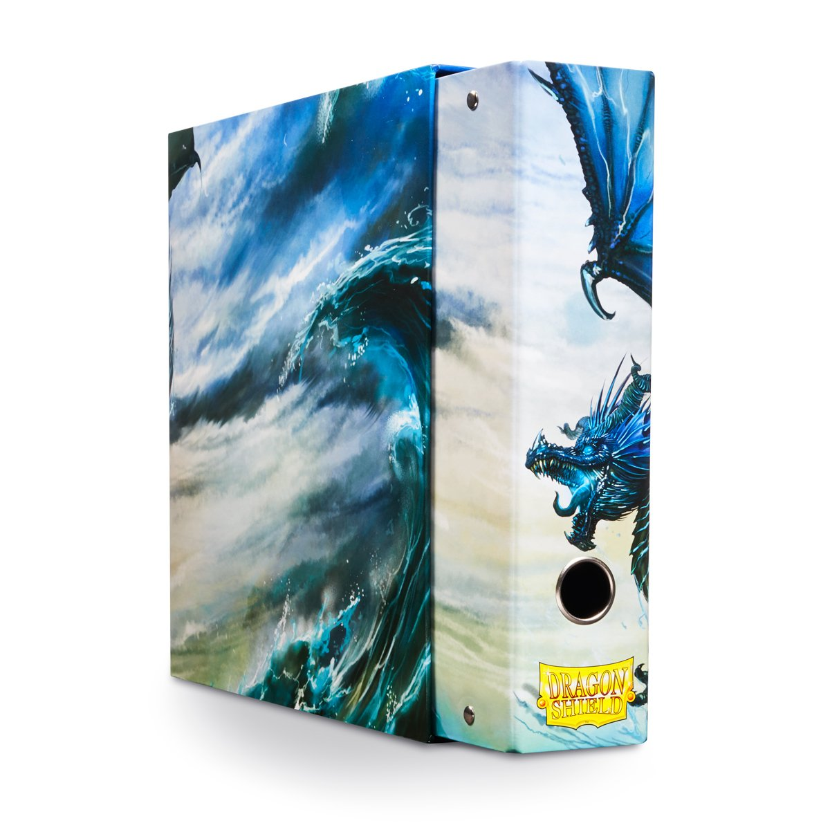 Slipcase Binder: Dragon Shield 9 Pocket Dragon Art Blue Arcane Tinman AT-33503