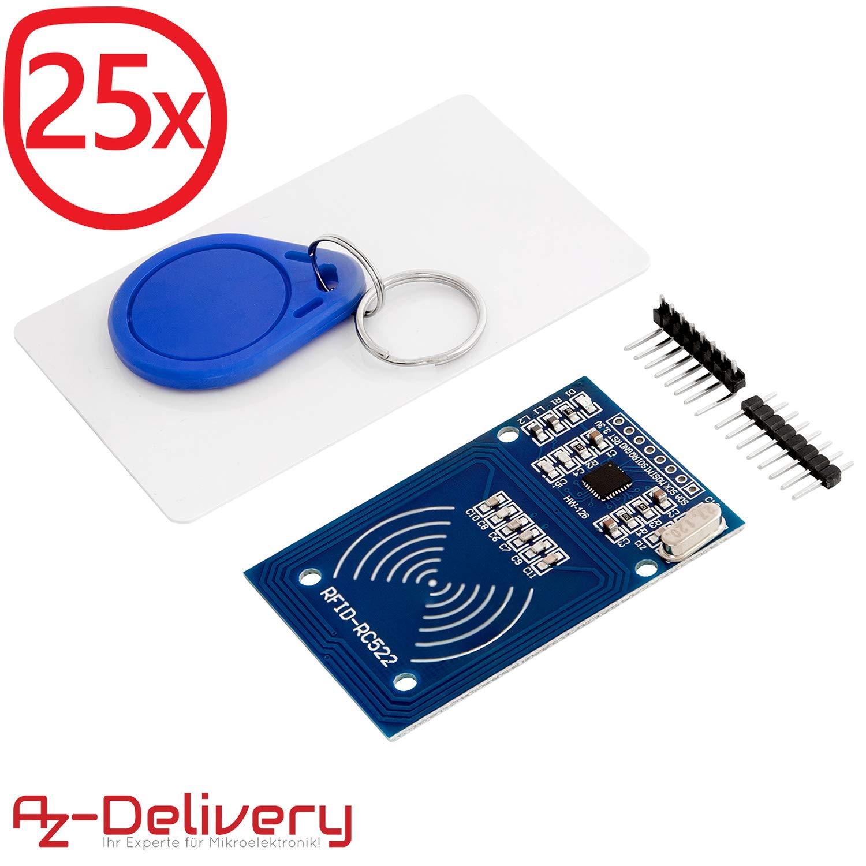 AZDelivery ⭐⭐⭐⭐⭐ 125 KHz RFID Chips e RFID carte 20x RFID Chip