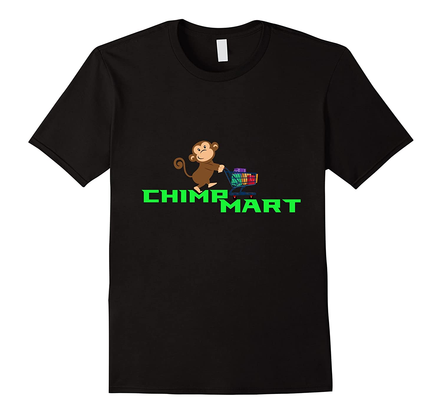 Chimpmart-This is How I Roll Funny Shopping T-Shirt-RT