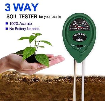 Ph Soil Tester Für Garten Boden Pflanze Tester Für Feuchtigkeit