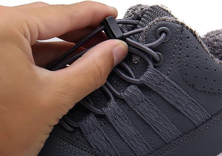 Bottes de Neige pour Gar/çon Fille Bottines Souples Mixte Enfant Baskets Mode Chaussures b/éb/é Hiver,EU 23-37