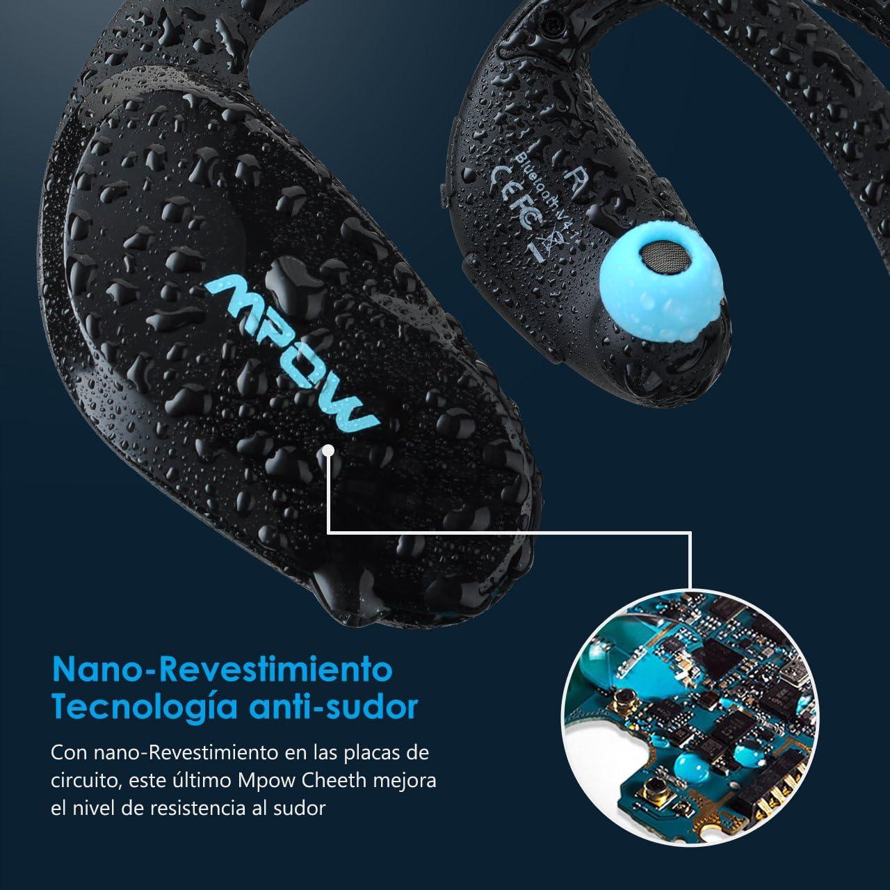 Mpow Cheetah Auriculares Estéreo In-ear Deportes Tecnología aptX ...