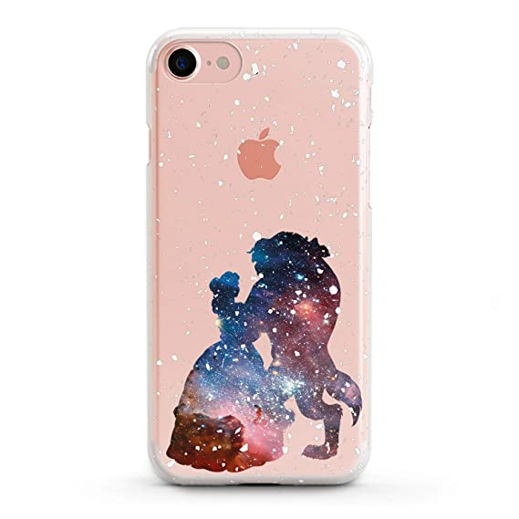 pretty nice 9cf91 806d0 Lex Altern Beauty The Beast Case iPhone Xs X Max 8 Plus 7 6s 6 SE 5s 5 TPU  Clear Disney Silicone Apple Belle Phone Cute Cover Galaxy Print Pattern ...