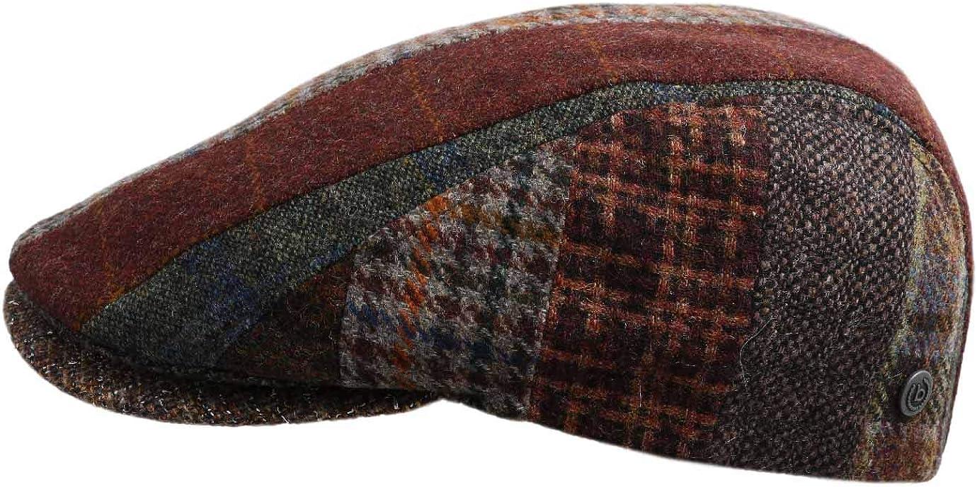 Bugatti Hats Patchwork Flat Cap