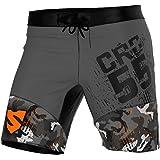 SMMASH Pantaloncini Men's Compression CrossFit Shorts MORO