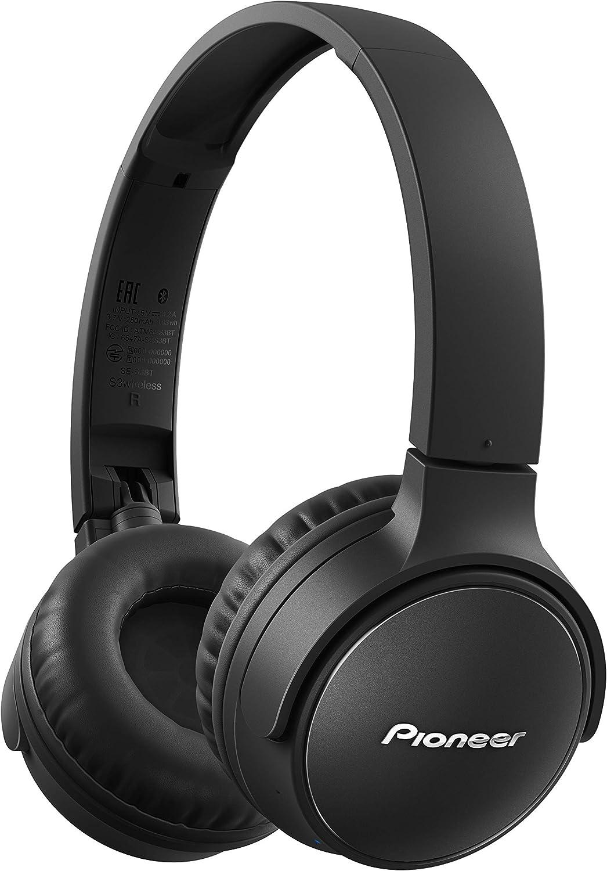 Pioneer SE-S3BT-B Wireless Stereo Headphones, SE-S3BT(B) Black, Medium