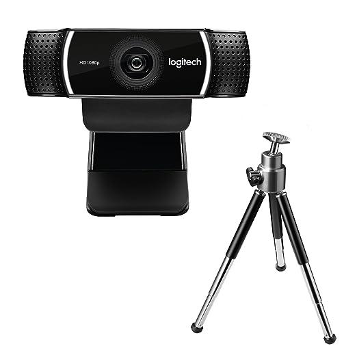 50 opinioni per Logitech C922 Pro Stream Webcam con Treppiedi e Microfono Integrato, 1080p/30FPS