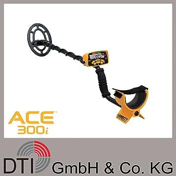 Garrett ACE300i Metalldetektor - Metallsonde mit 18x25cm Sonde